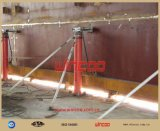 Tirante hidráulico da construção de cima para baixo