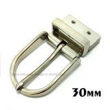 Alliage de zinc métal de haute qualité réversible broche boucle la boucle de ceinture pour les courroies de chaussures du vêtement Robe de sacs à main (ZD004--ZD007)