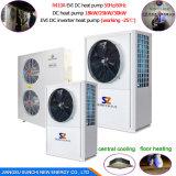 Save75%電気Cop4.23 R410A 12kw、19kw、35kw、70kwの105kw 380V最大60deg cのステンレス鋼のコンパクトのヒートポンプの給湯装置