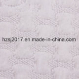 Colchón de Jacquard tejido tela hecha por el hilo de poliéster