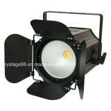LED Studio PAR COB 200W Blanco&Blanco cálido de la luz de la Etapa 2in1