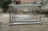 600X1010mm 알루미늄 마개 Truss 단계 점화 사각 Truss
