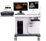 Scanner de luxe d'ultrason de chariot avec le poste de travail d'image