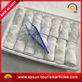 Companhia Aérea toalha molhada refrescante de limpeza de toalhas descartáveis