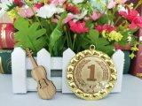 亜鉛合金のブランクの挿入メダル賞のまわりのシャンペンの隆起は使用した