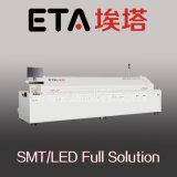 (A600D) 6 Zonas de Aquecimento do forno de refluxo de ar quente completo fabricante SMT profissional