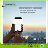 WiFi LEDの電球のDimmableスマートなE27 9W RGBW WiFiスマートなLEDの球根はSmartphone Ios及びGoogleの人間の特徴をもつホームのWiFiのスマートな球根によってリモート・コントロールAlexaのエコーを使用する