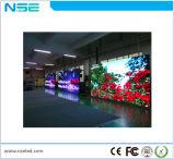 P4mm de interior que hace publicidad de la visualización de LED de alquiler de la visualización para la visualización video
