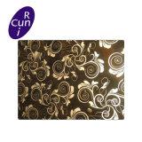 Выгравированный PVD 316 декоративные панели из нержавеющей стали для части элеватора соломы