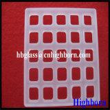 Hitzebeständigkeit-Schleifen-Vierecks-fixierter Quarz-Glas-Blatt