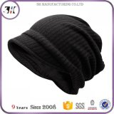 Nuevos hombres Casual Winter tejer Visor Gris oscuro Beanie Hat