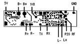 핸즈프리 무선 Bluetooth 헤드폰 헤드폰 PCBA