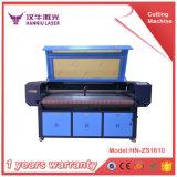 80W/100W de alimentación automática grabadora láser de CO2 para el sello de goma de tejido acrílico de contrachapado de máquina de corte láser CNC
