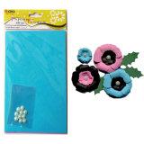 Flor de papel artesanal DIY Kit de Material de Halloween Flor