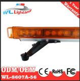 Diodo emissor de luz longo de advertência Emergency ambarino 56W Lightbar