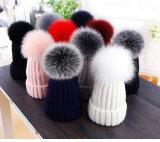 中国の製造者の多彩な毛皮の球POMの装飾POM POM