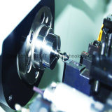 (GH30-FANUC) Pequeño tipo torno de la cuadrilla del CNC de la precisión