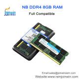 Aplicativo do computador portátil e Chips Itt 2133MHz DDR4 8GB de RAM