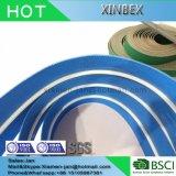 사용하는에 녹색 백색 또는 투명한 가이드 바를 가진 컨베이어 벨트 생산