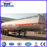 3 Kapazitäts-Kraftstoff-Tanker-halb Schlussteil der Wellen-50ton mit Blattfeder