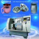 Mini filatoio automatico di CNC per la filatura di metallo (480C-15 di bassa potenza)