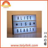 Des LED-Film- heller Kasten-DIY heller Kasten Zeichen-der Bildschirmanzeige-A4