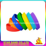 Internationaler Standard-Silikon-Mehrfarbensilikon-spezielles Handgelenk-Armband
