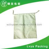 Sac de polypropylène avec le cordon de coton pour le blé, riz, empaquetage de farine