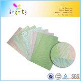 Papel impreso libro de recuerdos olográfico del brillo de los colores