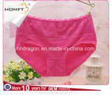 El MEDIADOS DE Lacework del algodón de la cintura resume las bragas bonitas de las muchachas de Panty de la muchacha linda