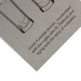 Popular Tags vestuário barato personalizado / Garment Hangtag Fornecedor