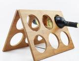 세륨을%s 가진 주문을 받아서 만들어진 도매 가정 대나무 포도주 선반