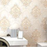 Papel de empapelar, 3D Wallcovering, decoración de la pared, tela de la pared del PVC, hoja del suelo del PVC, papel pintado del PVC