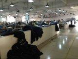 Джинсыы джинсовой ткани изготовленный на заказ способа тавра повелительниц тощие прямые