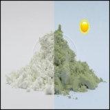 Cor de pó tipo fotocrómico Ocrown mudou depois de pigmento UV