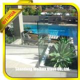 Usine de 8mm 10mm 12mm de verre trempé de clôtures de piscine