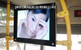 22 - Trasporto della città di pollice che fa pubblicità al comitato dell'affissione a cristalli liquidi della visualizzazione che fa pubblicità al contrassegno di Digitahi