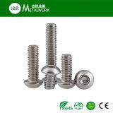ステンレス鋼の十六進ソケットボタンヘッドボルト(ISO7380)