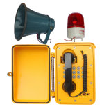 Telefone de emergência de radiodifusão Telefone impermeável