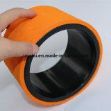 Viele Farben D15xw10cm TPE-rückseitiges Rollen-Kreis-Rad für Yoga