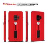 Samsung 은하 S9를 위한 숨겨지은 TPU Kickstand 전화 상자 플러스