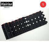 Cinghia perforata di Hairise Har5935 con colore nero