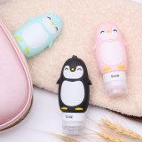 Лучшая цена индивидуальные герметичные Squeezable многоцветные Пингвин силиконового герметика поездки расширительного бачка