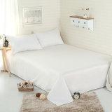 Tejido de algodón orgánico 100% de la Protección del Medio Ambiente Hotel Juego de sábana de lino