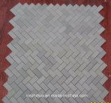 Losa de mármol blanca del azulejo de mármol blanco del este de mármol blanco real