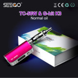 Nieuwe het Roken van Seego China van het Idee g-Klap K3 & tc-50W de Vloeibare Verstuiver van E