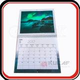 Изготовленный на заказ выдвиженческое печатание 2018 календара стены размера пришествия A4