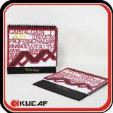 La impresión del calendario de regalo de promoción personalizada