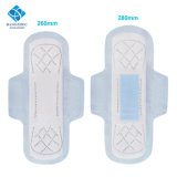 260mm Thick Day&Night Uses Lady Menstrual Use Winged Sanitary Napkins