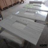 Superfície sólida Kingkonree Pedra de resina bancadas de cozinha (180301)